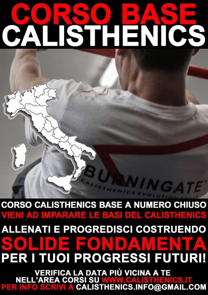 corso calisthenics base