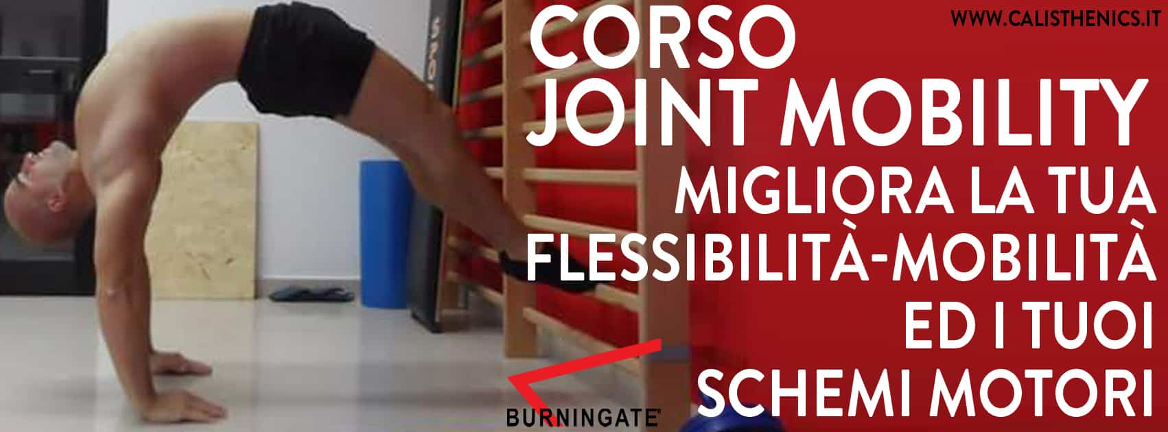 Corso per migliorare la propria mobilità articolare e la flessibilità muscolare